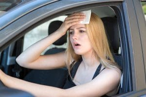 מזגן ברכב לא מקרר