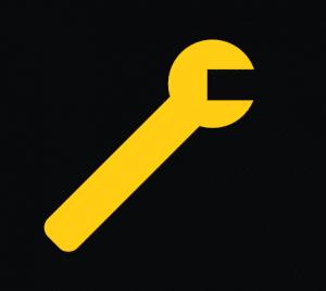 נורת אזהרה בצורת מפתח שוודי